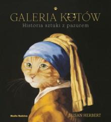 Galeria kotów. Historia sztuki z pazurem - Susan Herbert