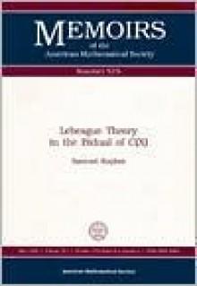 Lebesgue Theory in the Bidual of C(x) - Samuel Kaplan