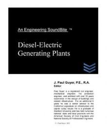 Diesel-Electric Generating Plants (Engineering SoundBites) - Paul Guyer