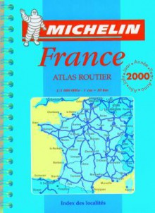 Michelin France Mini-Spiral Atlas No. 95 - Michelin Travel Publications