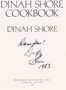 The Dinah Shore Cookbook - Dinah Shore