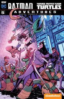 Batman/Teenage Mutant Ninja Turtles Adventures #5 - Matthew Manning,Jon Sommariva