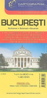 Bucharest Map (City Map) - Cartographia