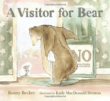 A Visitor for Bear (Bear and Mouse) - Bonny Becker