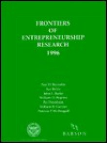 Frontiers of Entrepreneurship Research, 1996: Proceedings of the 16th Annual Entrepreneurship Research Conference - Paul D. Reynolds