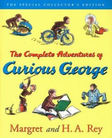 Curious George: The Complete Adventures Deluxe Book and CD Gift Set - Margret Rey, H.A. Rey