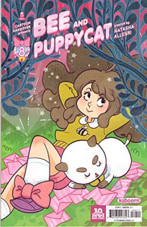 BEE AND PUPPYCAT #8 - Cover A - Boom! Studios - 2015 - 1st Printing - Natasha Allegri