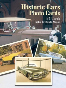 Historic Cars Photo Cards: 24 Cards - Randy Mason