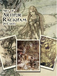 Art of Arthur Rackham: 24 Cards - Arthur Rackham, Jeff A. Menges