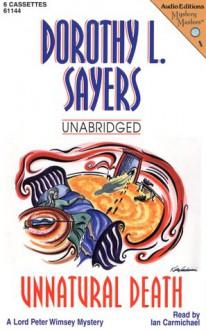 Unnatural Death (Audio) - Dorothy L. Sayers