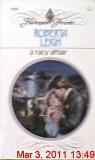 A Racy Affair (Harlequin Presents 1026) - Roberta Leigh