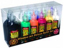 Novelty: Window Art Deluxe Refill Set - NOT A BOOK