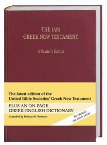 The UBS Greek New Testament a Reader's Edition (732) - Barbara Aland