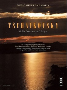 Music Minus One Violin: Tchaikovsky Violin Concerto in D major, op. 35 (Book & CD) - Music Minus One