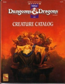 Dmr2 Creature Catalog (Dungeons and Dragons Accessory, Challenger 9438) - J Nephew