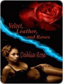 Velvet, Leather and Roses - Dahlia Rose