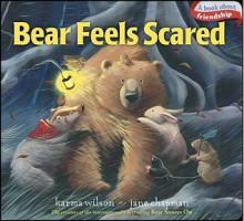 Bear Feels Scared (Board Book) - Karma Wilson, Jane Chapman