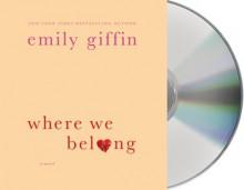 Where We Belong - Emily Giffin