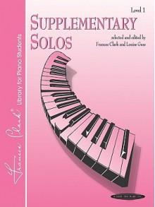 Supplementary Solos: Level 1 - Jon George