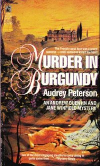 Murder in Burgundy - Audrey Peterson