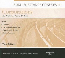 Sum & Substance Audio on Corporations with Summary Supplement (CD) (Sum + Substance CD Series) - James D. Cox