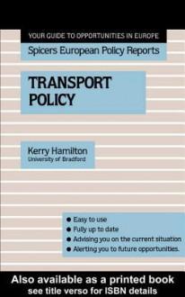 Transport Policy - Kerry Hamilton
