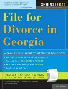 File for Divorce in Georgia - Charles Robertson II