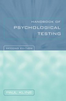Handbook of Psychological Testing - Paul Kline