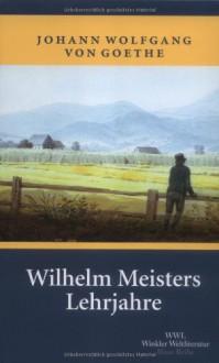 Wilhelm Meisters Lehrjahre - Johann Wolfgang von Goethe