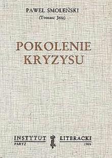 Pokolenie kryzysu - Paweł Smoleński