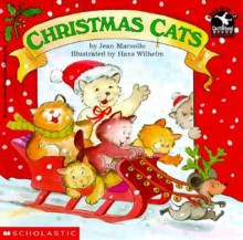 Christmas Cats (Read with Me Cartwheel Books (Scholastic Paperback)) - Jean Marzollo