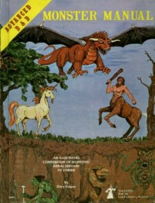 Official Advanced Dungeons & Dragons Monster Manual: An Alphabetical Compendium of all the Monsters Found in AD&D, Including Attacks, Damage, Special Abilities, and Descriptions - Gary Gygax