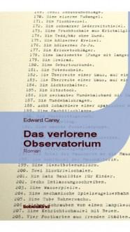 Das verlorene Observatorium - Edward Carey