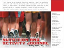 Physical Education Nutrition and Activity Journal - Betty Kern, Betty Kern