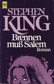Brennen muss Salem - Stephen King,Christoph Wagner,Ilse Winger