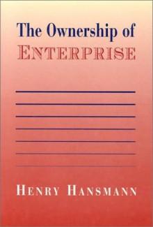 The Ownership of Enterprise - Henry Hansmann