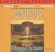 It Happened One Autumn - Lisa Kleypas, Rosalyn Landor