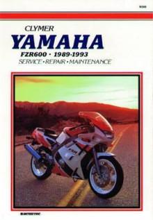 Yamaha Fzr600, 1989-1993: Service, Repair, Maintenance - Clymer Publishing