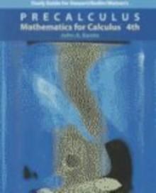 Precalculus: Mathematics for Calculus (Study Guide) - John Banks