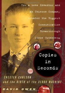 Copies in Seconds - David Owen
