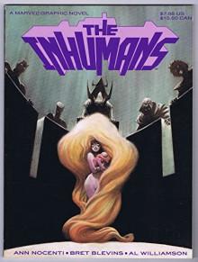 Inhumans Marvel Graphic Novel VF/NM 1st Print 1988 Marvel Comics - Ann Nocenti, Bret Blevins