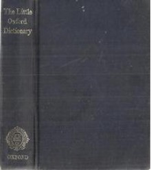 The Little Oxford Dictionary of English - George Ostler