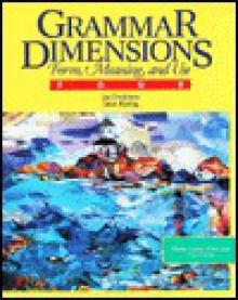 Grammar Dimensions Book 4 - Jan Frodesen, Janet Eyring