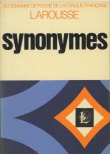 Synonymes. Dictionnaire de poche de la langue française. - praca zbiorowa