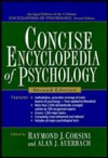Concise Encyclopedia of Psychology, 2nd Edition Abridged - Alan J. Auerbach