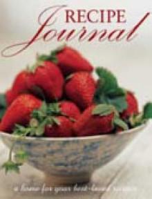 Recipe Journal - Rebecca Clancy, Jo Glynn, Valli Little