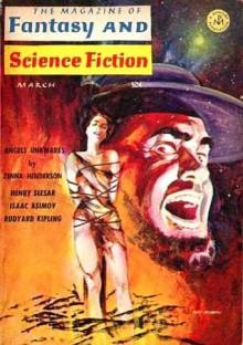 The Magazine of Fantasy and Science Fiction, March 1966 - Edward L. Ferman, Kathleen James, Isaac Asimov, Julius Fast, Henry Slesar, Richard Olin, John Tomerlin Tomlinson, Doris Pitkin Buck, Zenna Henderson