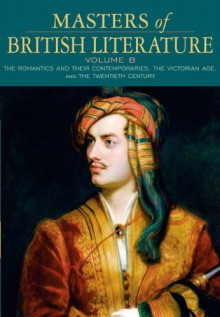 Masters of British Literature, Volume B - David Damrosch, Christopher Baswell, Clare Carroll