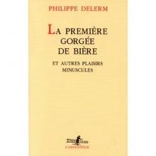 La première gorgée de bière et autres plaisirs minuscules - Philippe Delerm