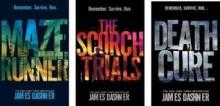 The Maze Runner Trilogy Collection Set Maze Runner, The Scorch Trials & Dea - James Dashner